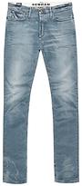 Denham Bolt Skinny Fit Jeans, Light Grey Wash