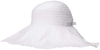 Hat Attack Easy Sun Hat (White) Caps