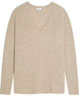 Vince Wool And Cashmere-blend Sweater - Beige