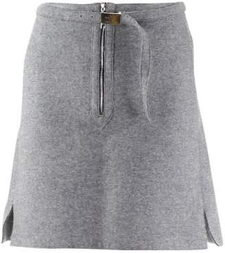 Louis Vuitton Grey Wool Skirt for Women