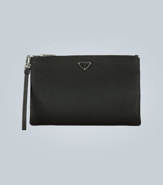 Prada Nylon travel bag with logo