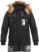 Junya Watanabe X The North Face wool-twill coat