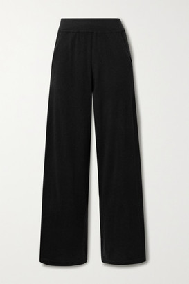 Arch4 Swing Cashmere Straight-leg Pants - Black