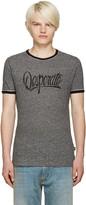 Marc Jacobs Grey 'Desperate' T-Shirt