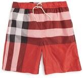 Burberry Boy's 'Mini Jeffries' Swim Trunks