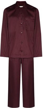 CDLP Button-Up Two-Piece Pajama Set