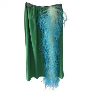 Prada Green Skirt for Women