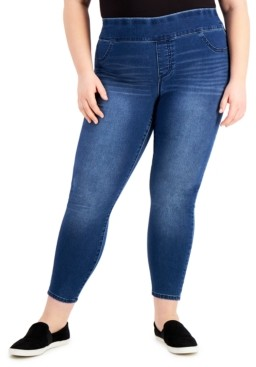 Style&Co. Style & Co Plus Size High-Rise Jeggings, Created for Macy's