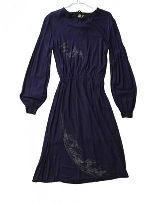 Diesel Purple Cotton - elasthane Dress for Women