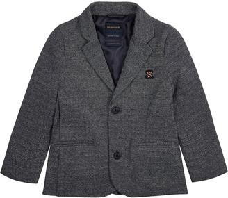 Mayoral Boy's Knit Blazer Jacket, Size 4-7