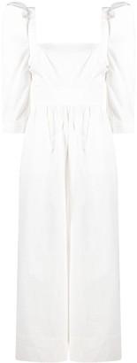 Cara Cara Puff-Sleeved Jumpsuit