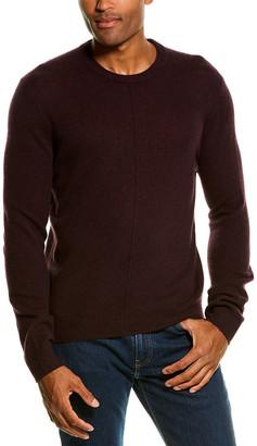 Atm Anthony Thomas Melillo Exposed Seam Cashmere Crewneck Sweater