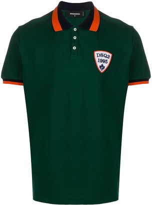 DSQUARED2 Logo Crest Polo Shirt
