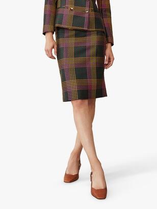 The Fold Astwood Jacquard Knee Length Skirt, Multi