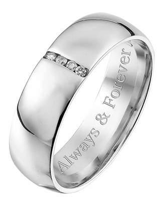 Gents Marisota Personalised 9 Carat Gold Ring