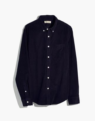 Madewell Corduroy Button-Down Shirt