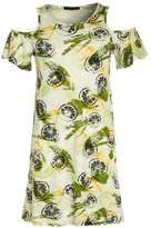 Sisley Jersey dress green