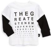 Nununu Infant Boy's Vision Test Graphic T-Shirt