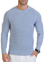 Nautica Crewneck Ribbed Sweater