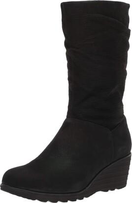 Dansko Women's Cassy Black Boot 11.5-12 M US