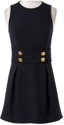 Michael Kors Navy Wool Dresses