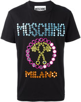 Moschino mirror embroidered T-shirt