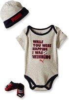 Puma Baby Boys' 3pc Bodysuit Set