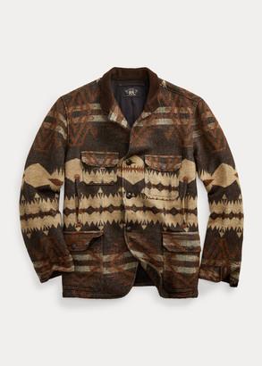 Ralph Lauren Shetland Wool-Cotton Jacquard Jacket