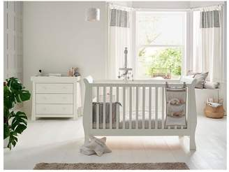 Mamas and Papas Mia Sleigh Cot Bed and Dresser Changer