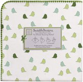 Swaddle Designs Ultimate Receiving Blanket - Little Chickies-Pure Green