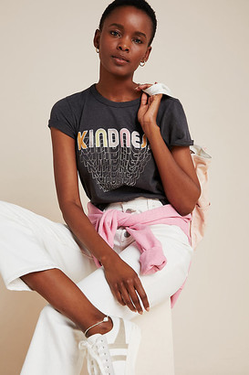 Junk Food Clothing Kindness Graphic Tee By in Grey Size XS