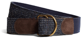 Brooks Brothers Harris Tweed D-Ring Belt