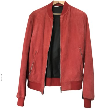 Hermes Red Suede Jackets