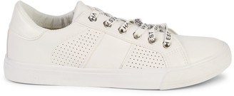 Vintage Havana Signature Perforated Lace-Up Sneakers
