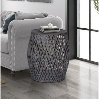Bungalow Rose Kayden End Table Color: Gray