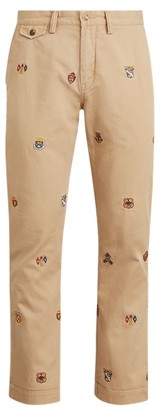 Ralph Lauren Classic Fit Embroidered Chino