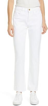 Frame Le Hollywood High Waist Straight Leg Jeans