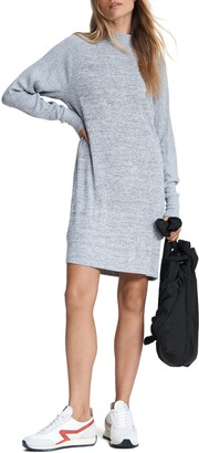 Rag & Bone The Knit Racer Long Sleeve Turtleneck Dress