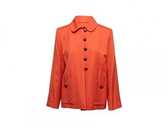 Saint Laurent Orange Viscose Jackets