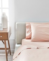Splendid Washed Percale Solid Sheet in Pink