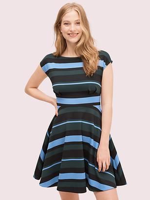 Kate Spade Stripe Ponte Fiorella Dress