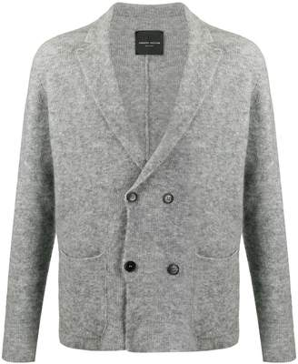 Roberto Collina double-breasted ribbed cardigan