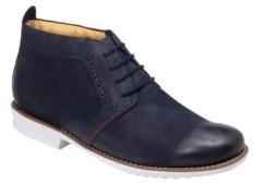 Sandro Moscoloni Plain Toe 4 Eyelet Demi Boot Men's Shoes