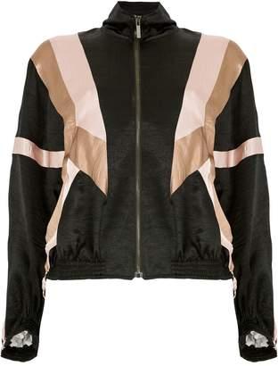 Koché geometric bomber jacket