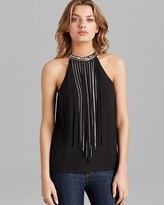 GUESS Top - Fringe Chain