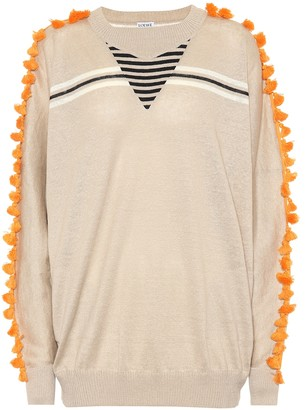 Loewe Linen and cotton sweater