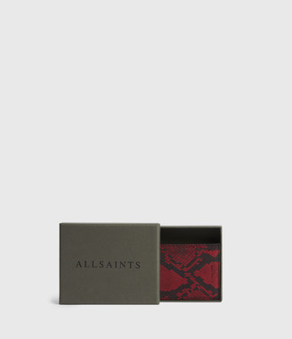 AllSaints Anabel Leather Card Case