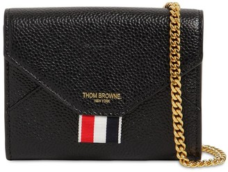 Thom Browne GRAINED LEATHER ENVELOPE WALLET