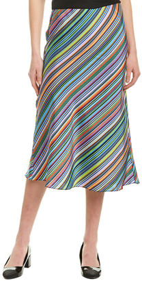 Milly Bias Midi Skirt