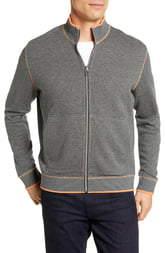 Robert Graham Ando Classic Fit Zip Front Reversible Jacket